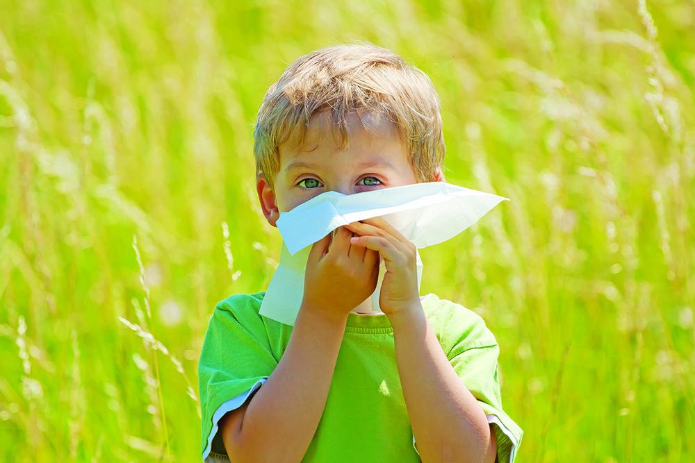 Как распознать поллиноз у детей?