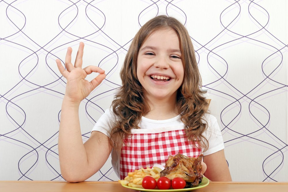 Питание ребенка и мясо птицы