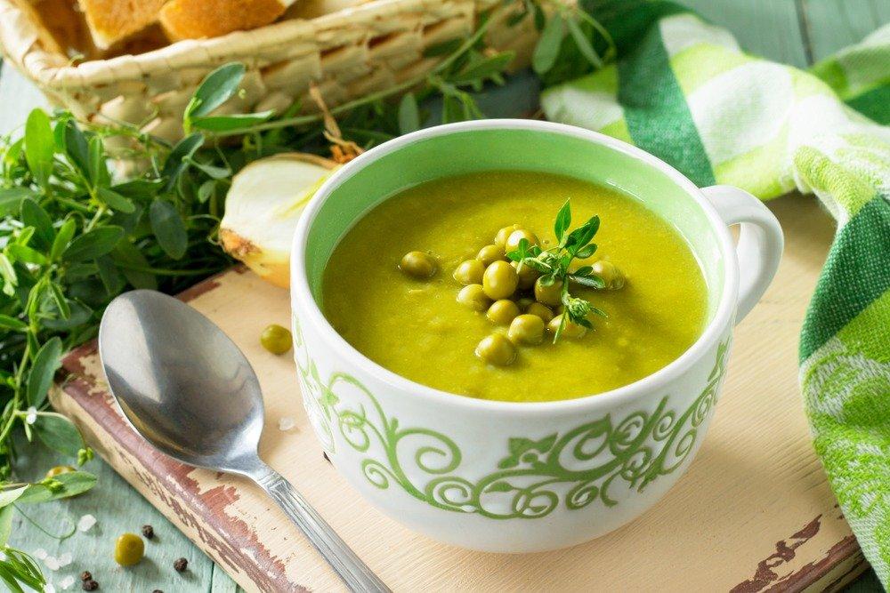 На диете можно гороховый суп ребенку