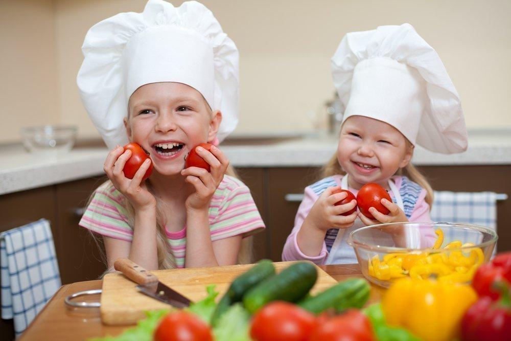 Дети и рецепты блюд