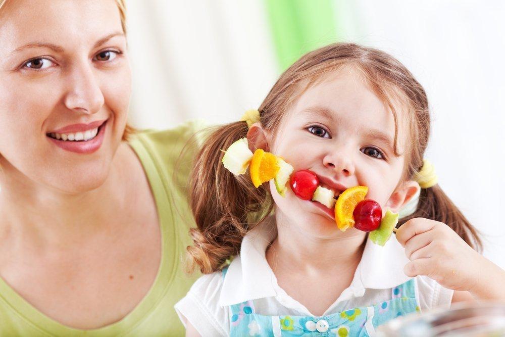 Фрукты — лучший выбор родителей