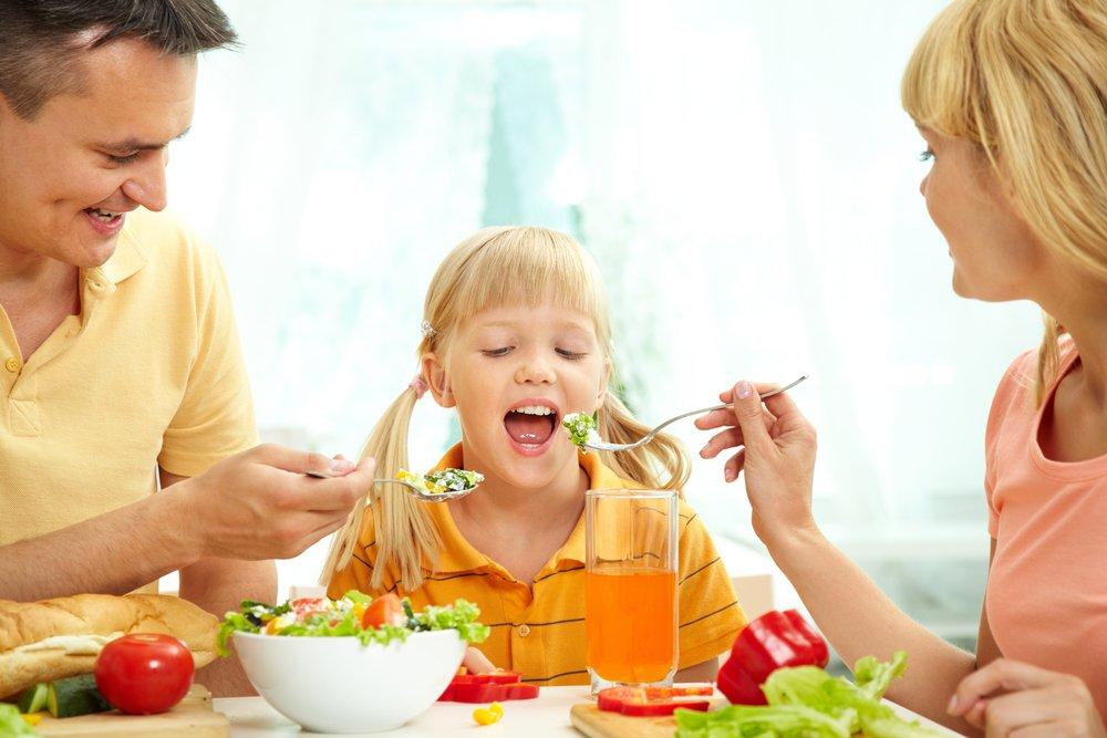 Ужин в компании родителей