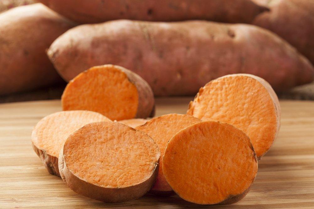 Похудение со сладким картофелем