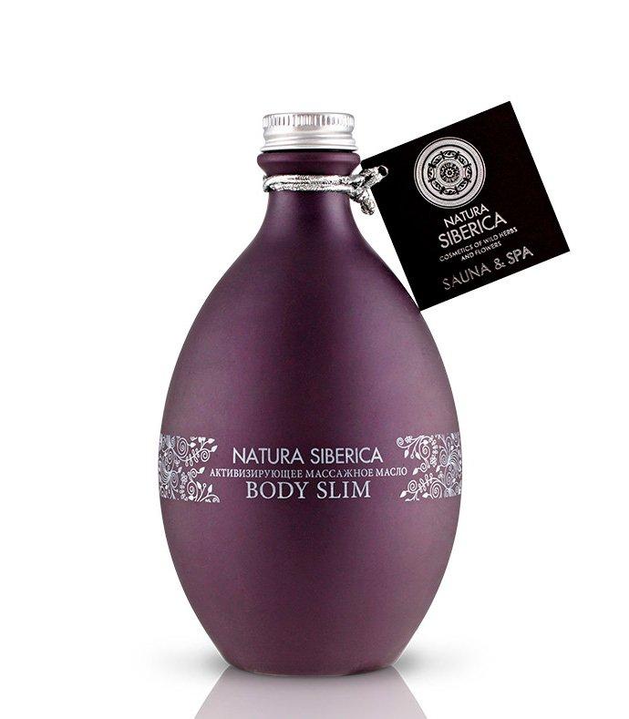 Natura Siberica Активизирующее масло BODY SLIM для антицеллюлитного массажа, 300 мл Источник: naturasiberica.ru