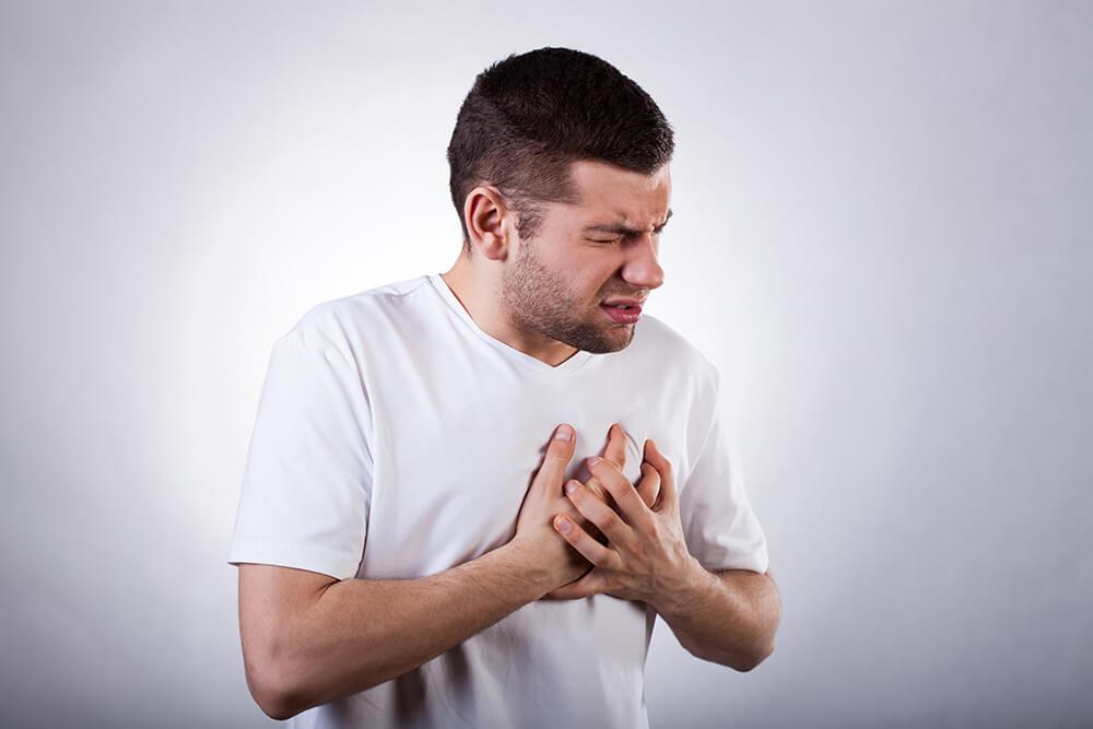 Боль и одышка при нагрузке