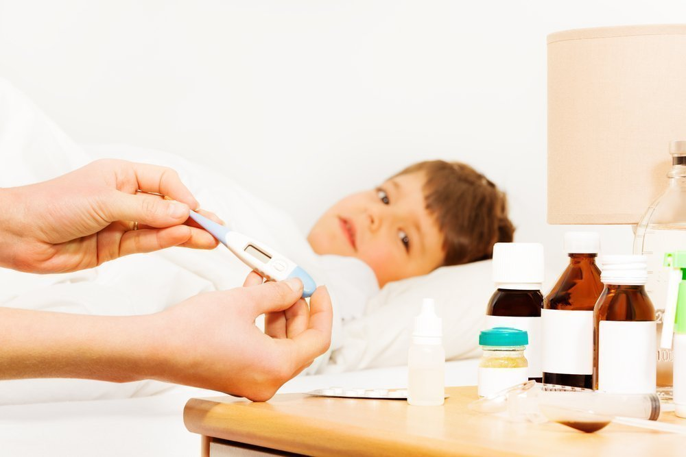 Препараты, снижающие температуру для детей
