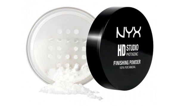 Рассыпчатая пудра для лица Nyx Studio Finishing Powder, 8 г Источник: nyxcosmetic.com.ua