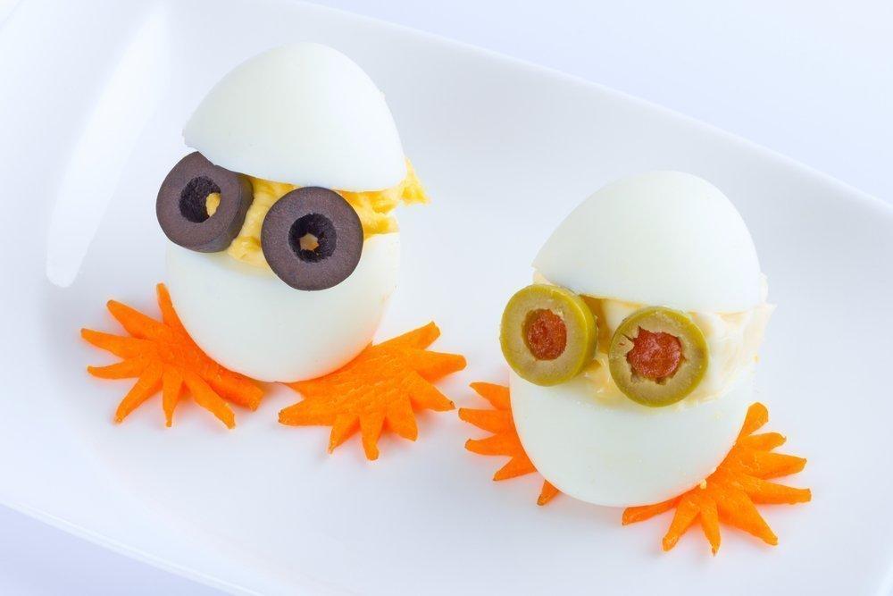 Как приготовить яйцо для детей