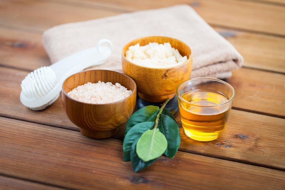 Использование солевых скрабов для красоты и здоровья кожи