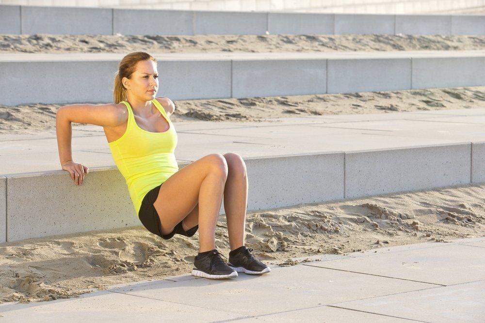 Фитнес-программа тренировок на лестнице