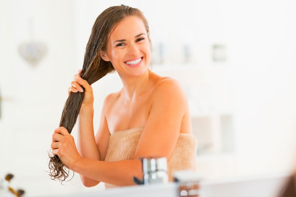 Простой способ укрепления волос