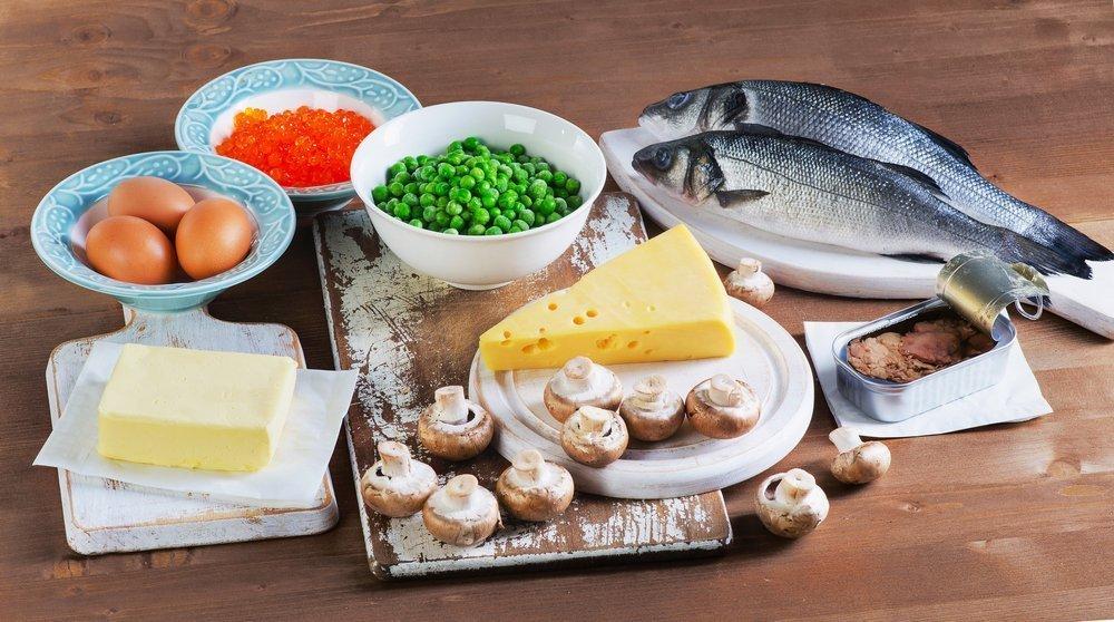 Правильное питание и восполнение дефицита витаминов