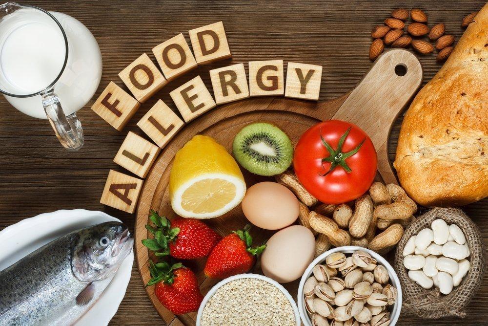 Основные пищевые аллергены у детей