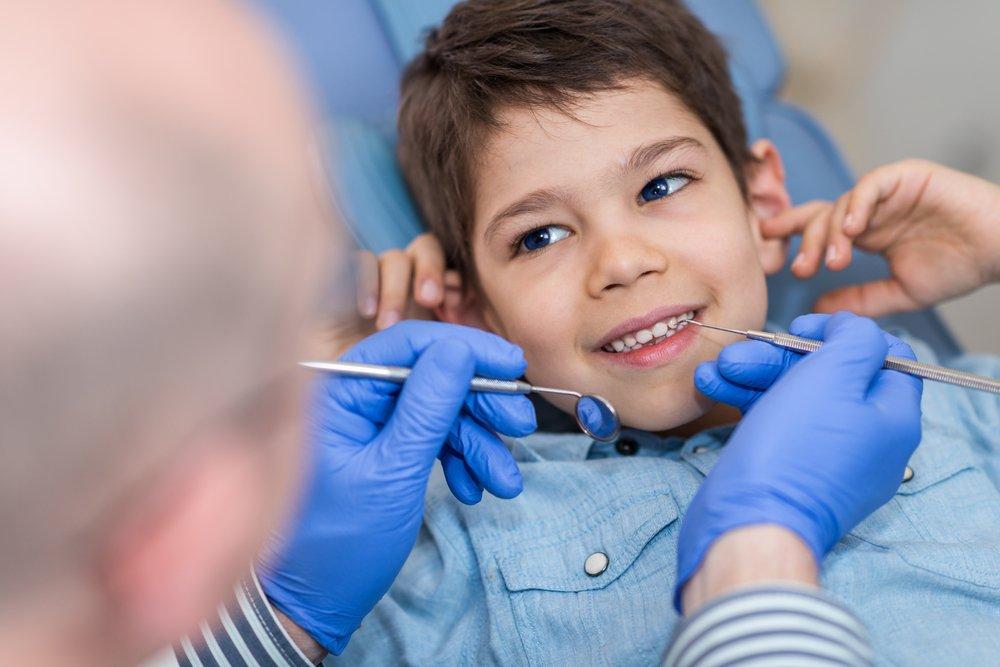 Лечение зубов маленького ребенка