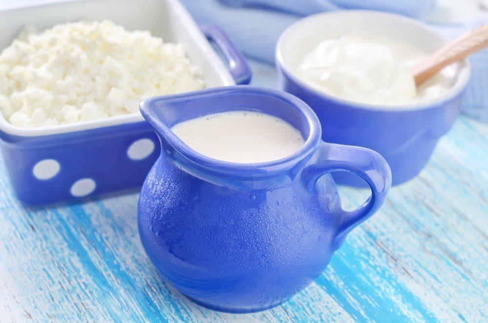 Жиры, содержащиеся в молочных продуктах питания