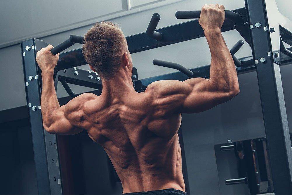 Упражнения для красоты и силы мускулов: турник и брусья. Тренинг № 3