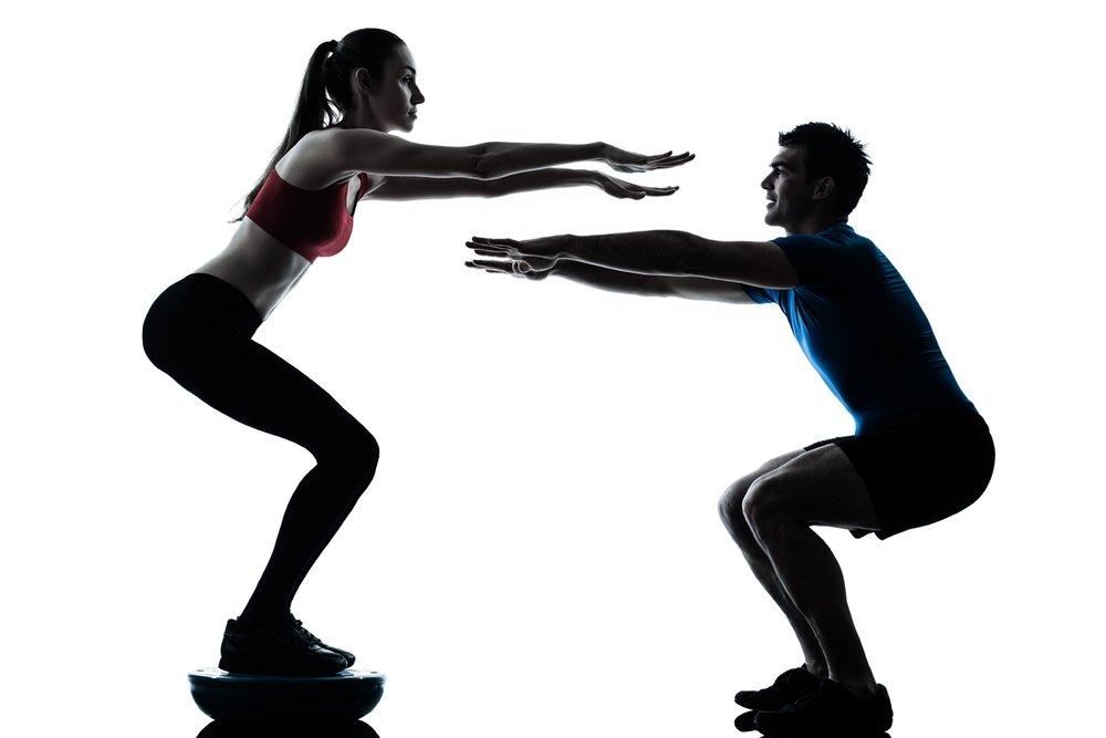 Польза фитнеса босу