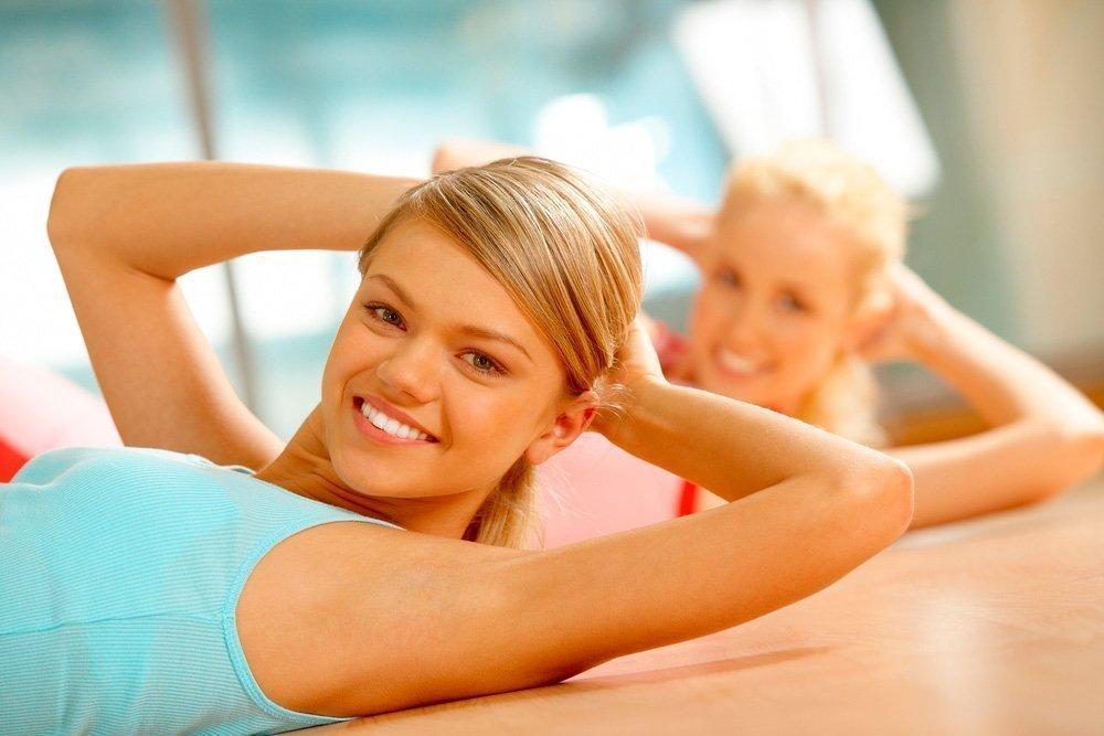 Упражнения для красоты осанки