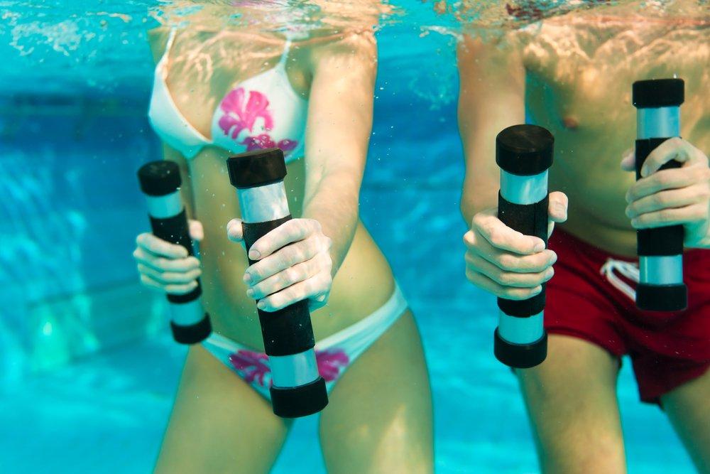 Воздействие водных упражнений на организм