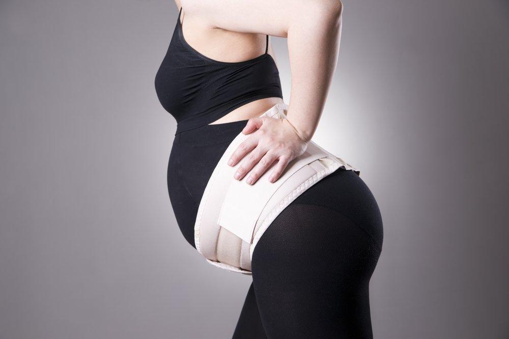 Бандажи во время и после беременности