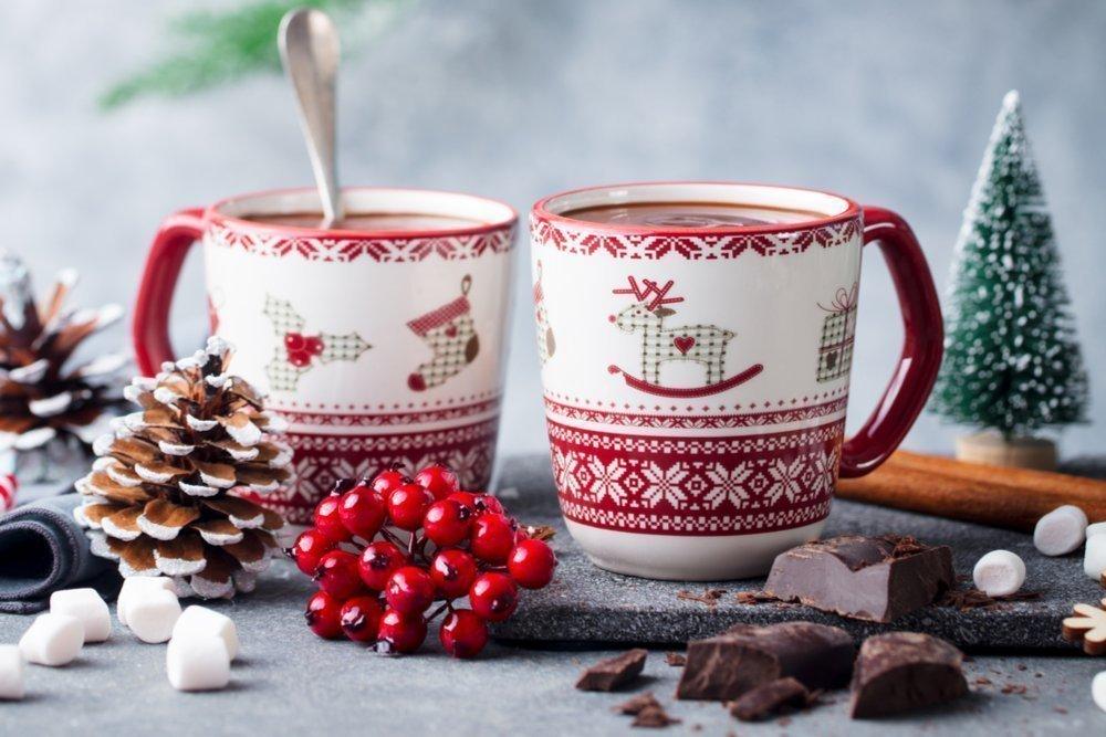 Ягоды в зимнюю стужу: вкуснейший горячий шоколад