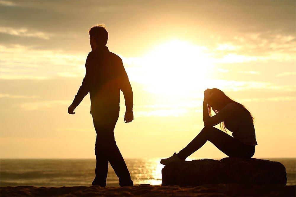 Законченные отношения и ощущение потери