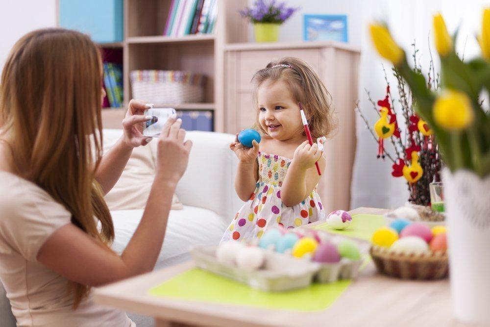 Съемка дома: дети раннего возраста и дошкольники