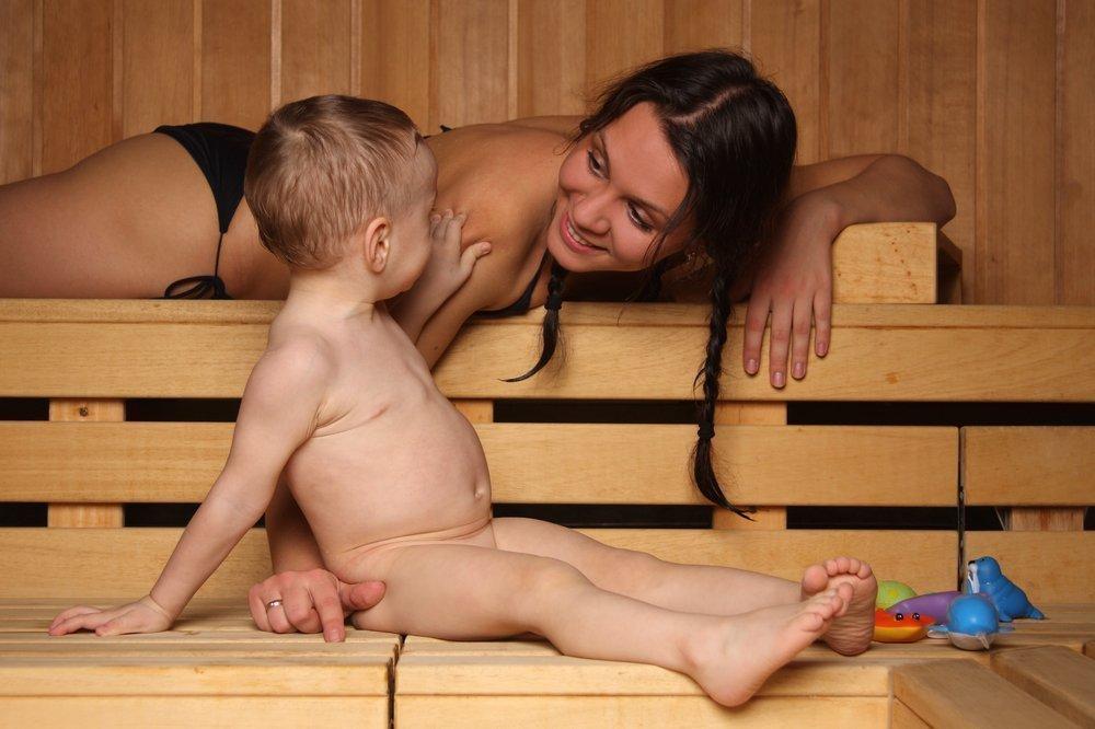 Баня — профилактика детских заболеваний