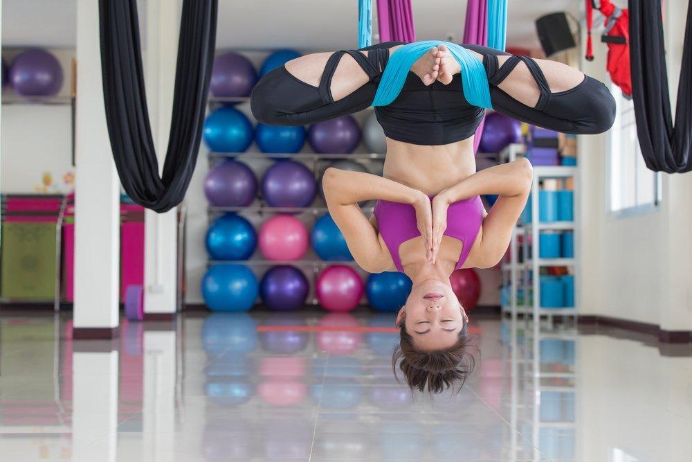 Упражнения аэройоги