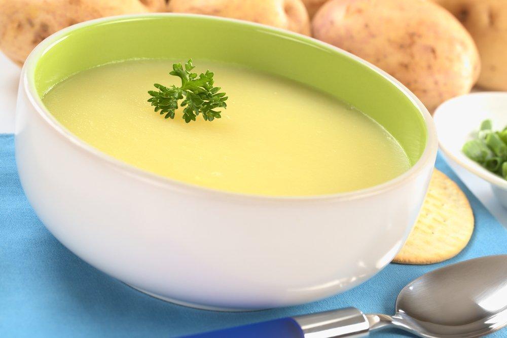 Простой рецепт картофельного супа-пюре
