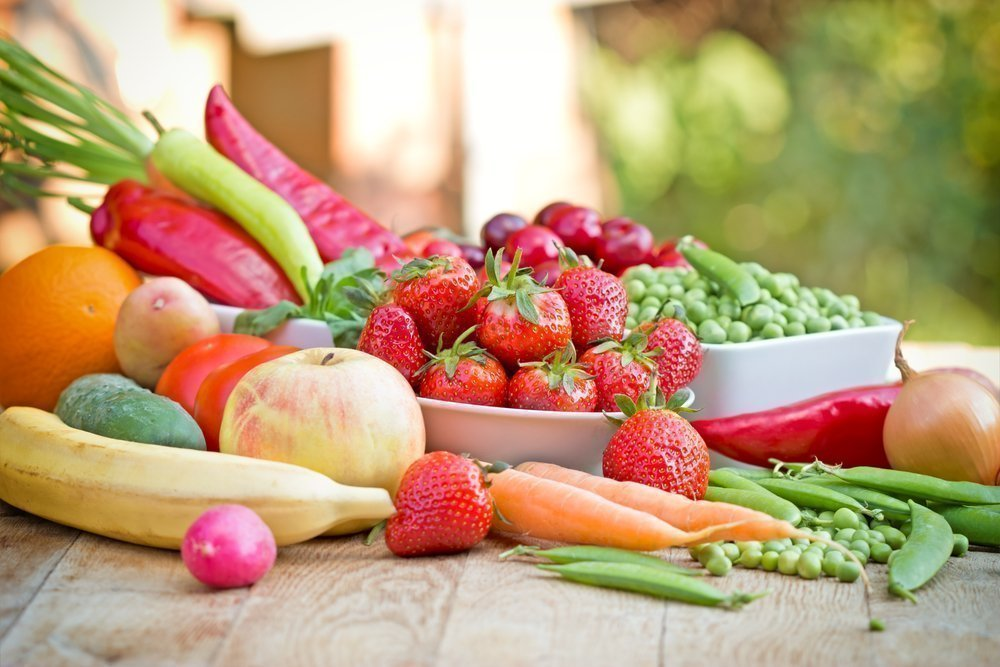 картинки еды овощи фрукты выбор визуальных техник