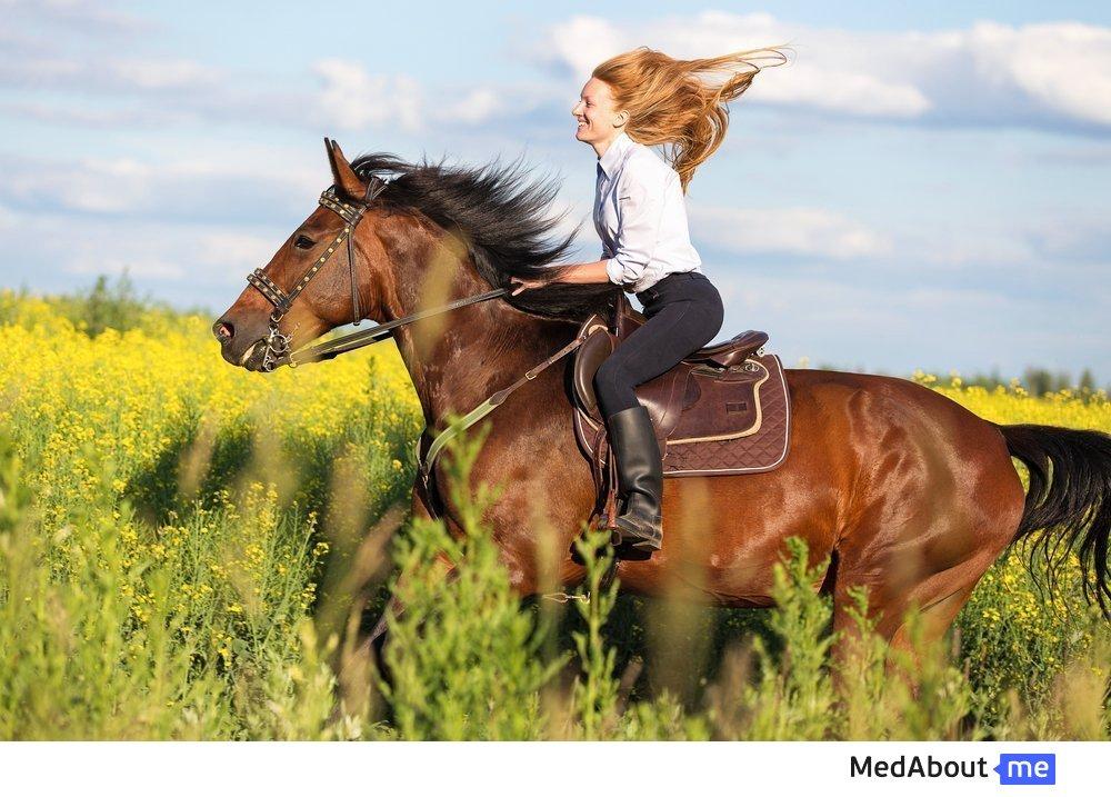 Пет-терапия с использованием лошадей (иппотерапия)