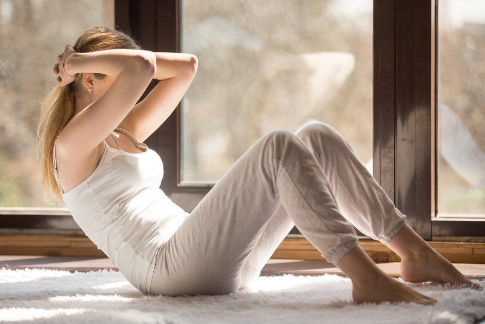 Домашний комплекс физических упражнений для жиросжигания