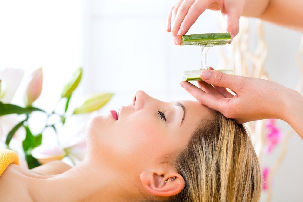 Алоэ — натуральное средство для снятия макияжа
