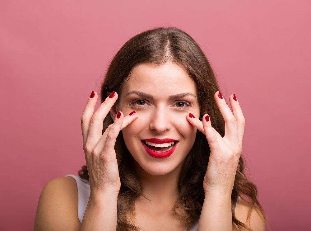 Салонные процедуры для глаз дома