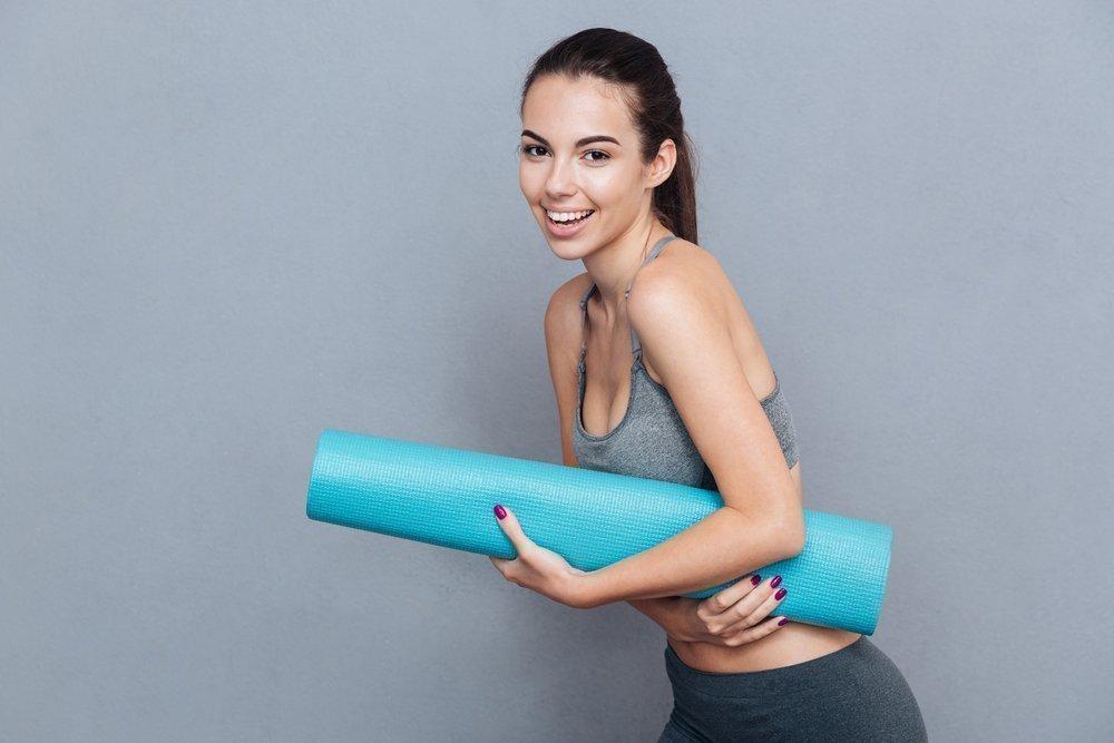 Коврики для йоги или фитнеса