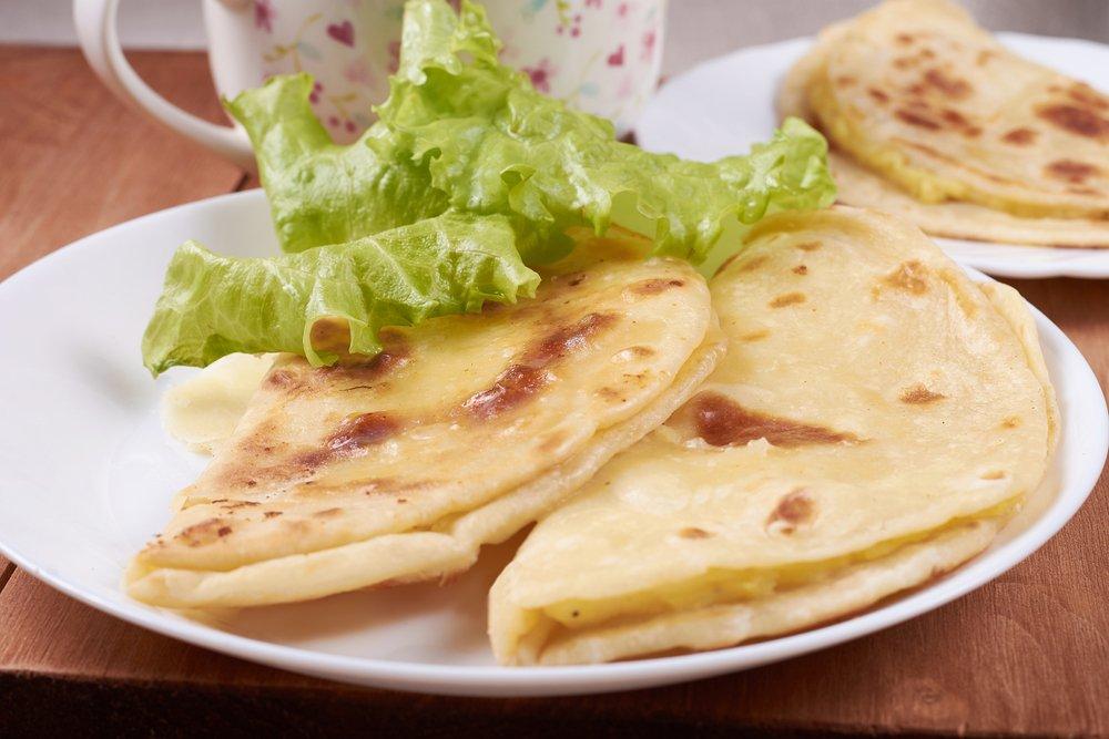 Рецепт приготовления кыстыбыя с картошкой