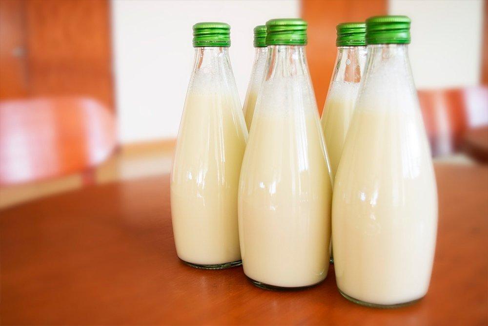 Продукт №6 — цельное коровье молоко