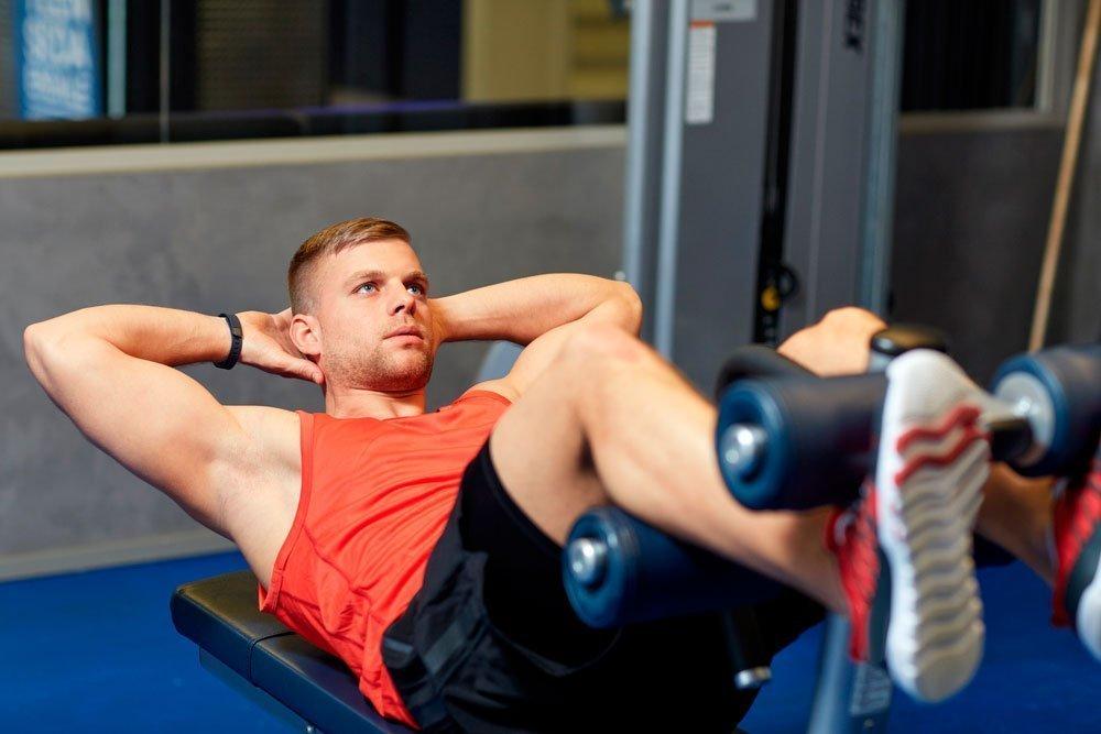 Упражнения на скамье