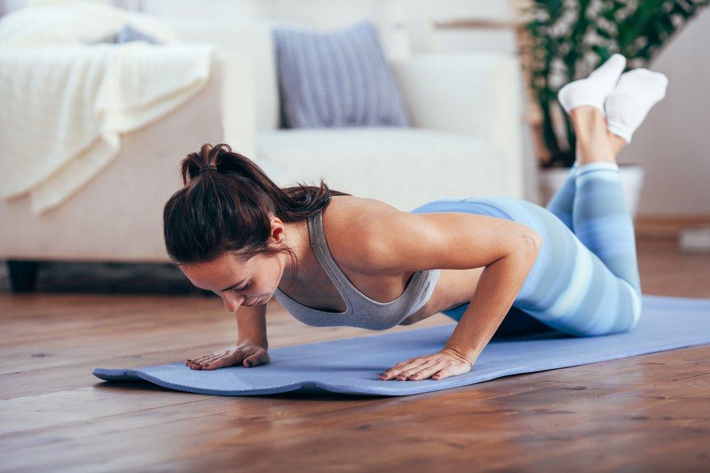 Вариации выполнения упражнения