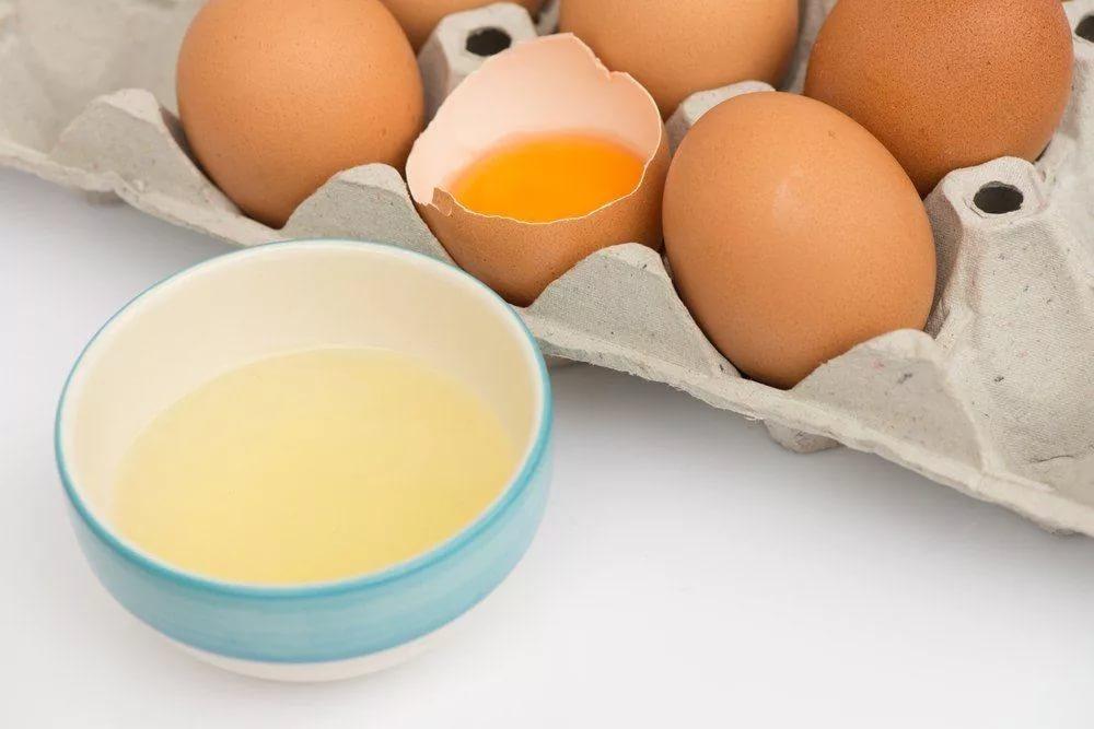 Яичный белок в антивозрастной домашней косметике