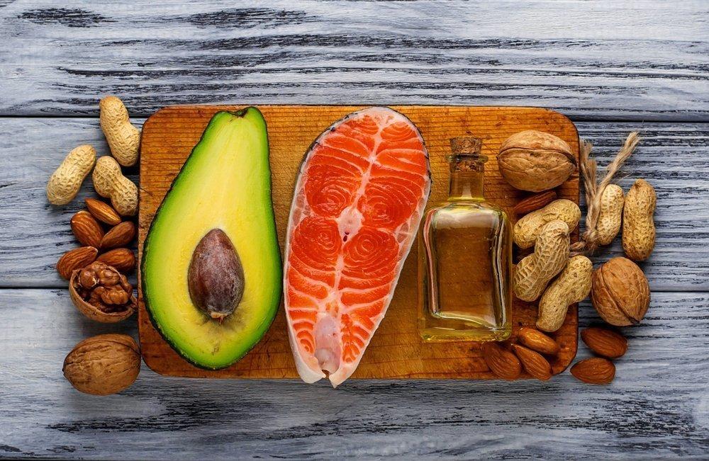 Жиры в продуктах питания: типы
