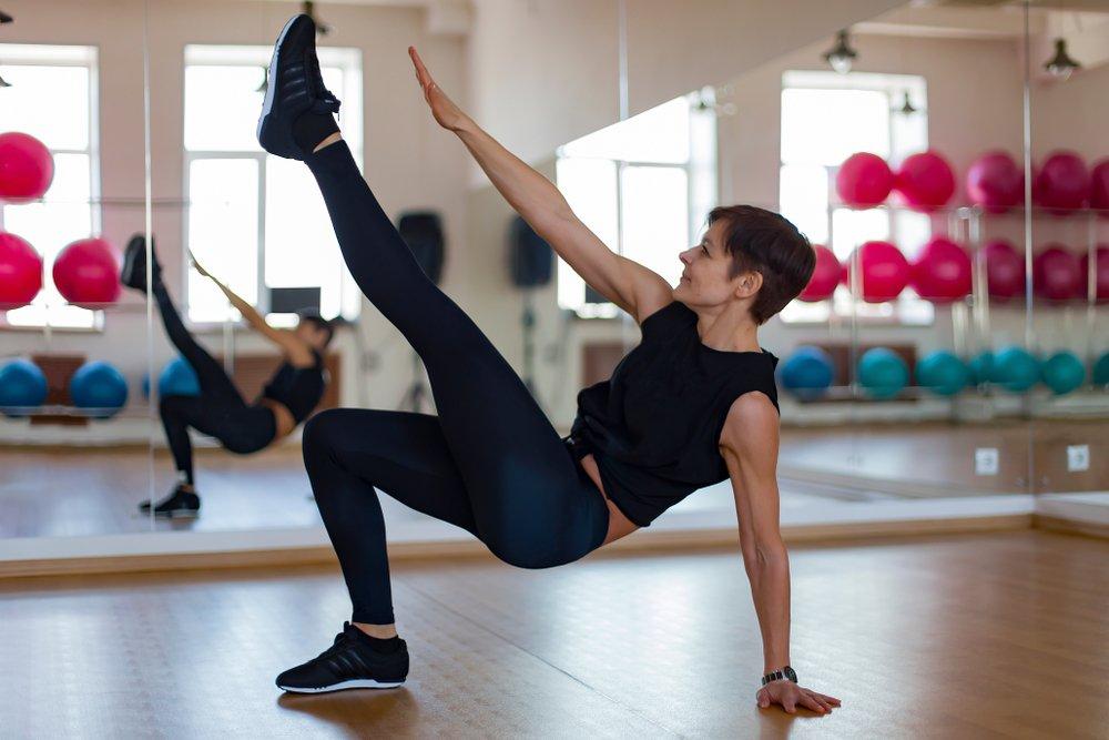 Простое занятие фитнесом для улучшения координационных навыков
