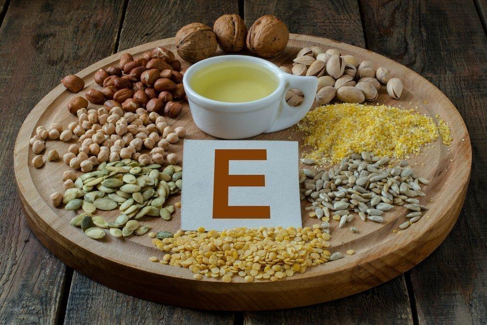 Витамин Е против старения