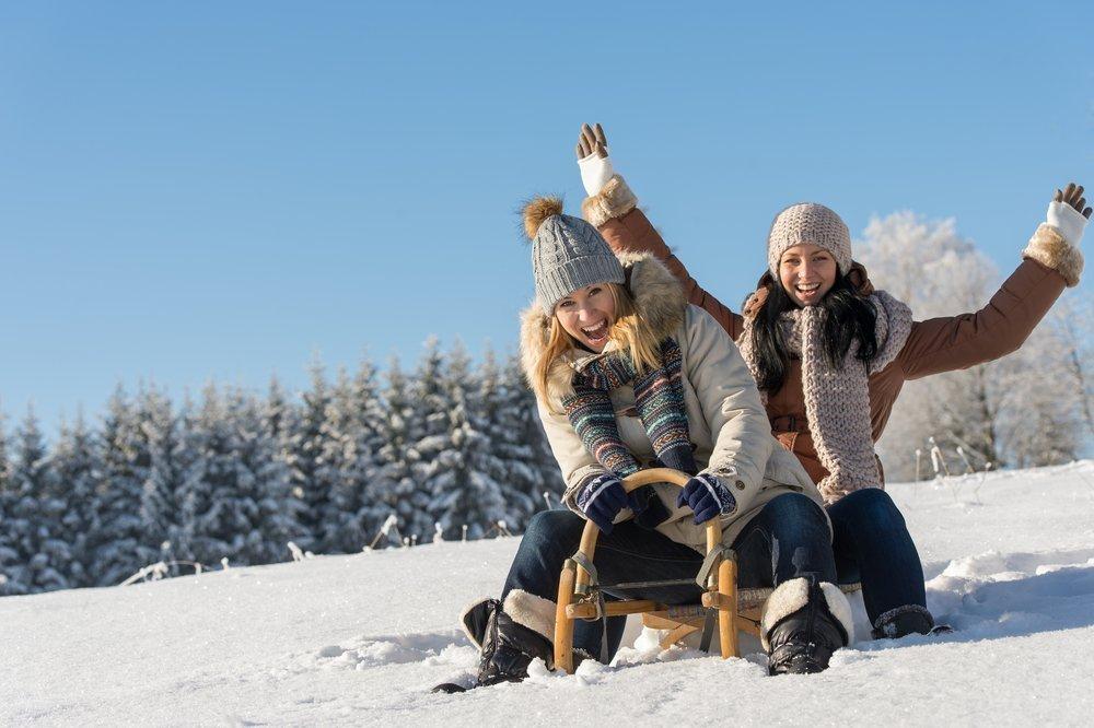 Фитнес для похудения: зимние забавы