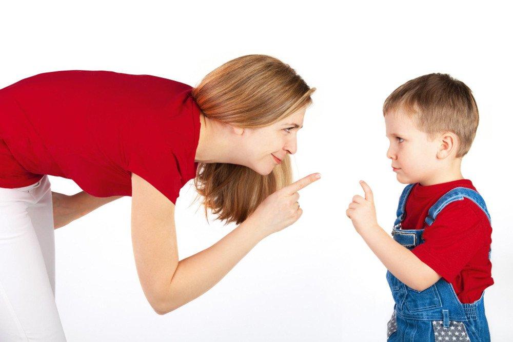 Ошибка №6: Агрессия по отношению к ребенку