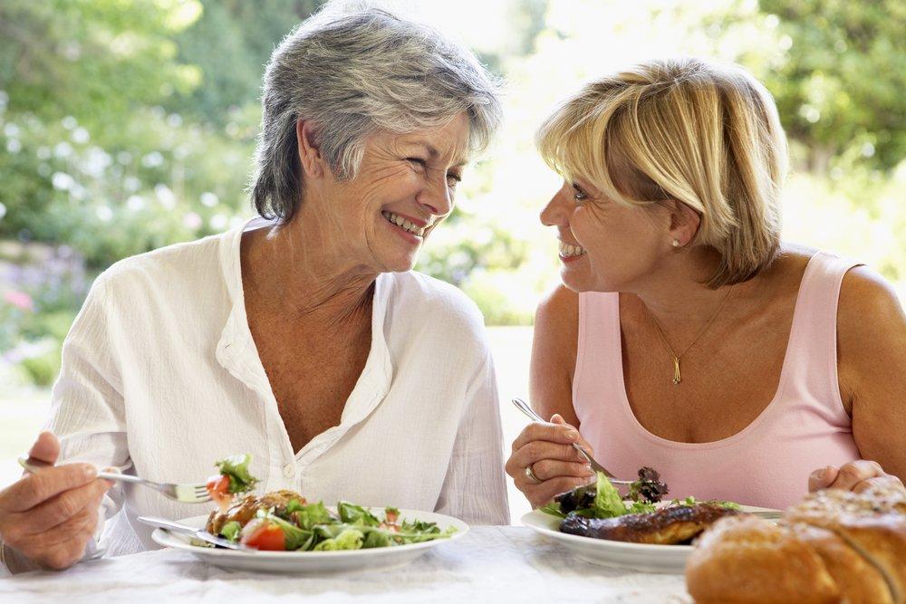 Здоровое питание после 50 лет — залог красоты и свежести