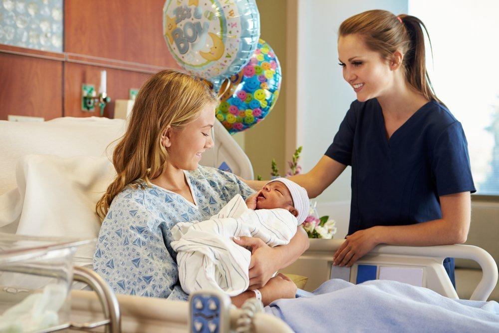 Естественные роды при ранней беременности