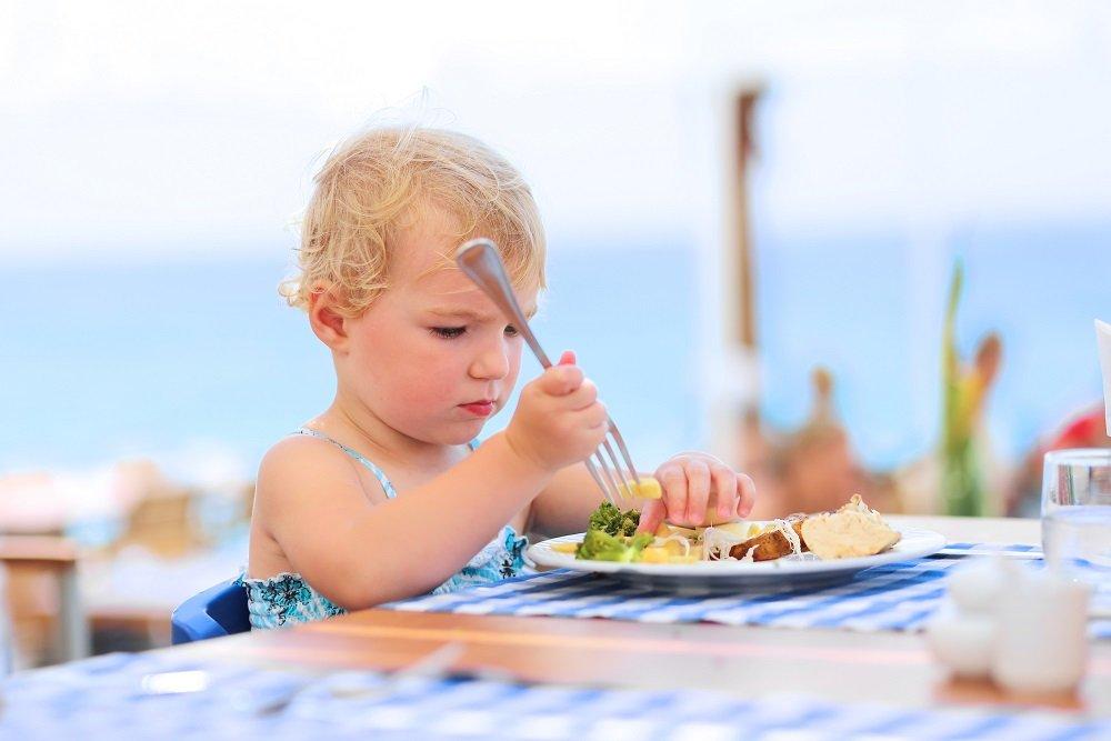 Питание на пляже