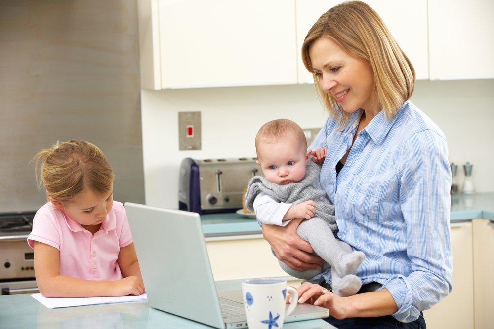 Картинки мамы в работе